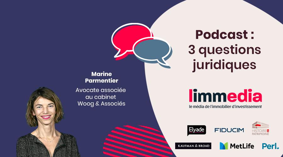 3 Questions Juridiques à Marine Parmentier avocat associé Cabinet Woog & Associés